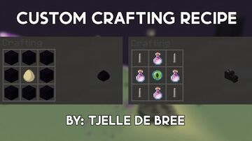 craftable dragon head and dragon egg Minecraft Data Pack