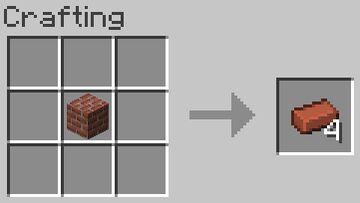 Uncraftable Bricks Block Minecraft Data Pack