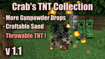 Crab's TNT Collection - Throwable TNT & More Minecraft Data Pack