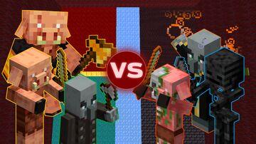 Minecraft Mob Battle 1.2 (+1.16) Minecraft Data Pack
