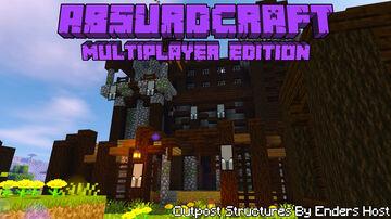 AbsurdCraft Pack Multiplayer Edition V2.1.2 Minecraft Data Pack