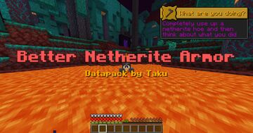 Better Netherite Datapack by Taku Minecraft Data Pack