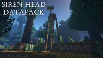 Siren Head datapack Minecraft Data Pack