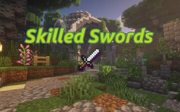 Skilled Swords (Custom Craftable Weapons) Minecraft Data Pack