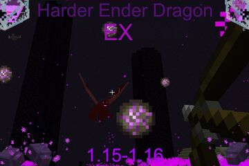 Harder Ender Dragon EX Minecraft Data Pack