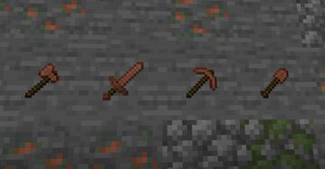 Unbreakable Copper Tools by Taku Minecraft Data Pack