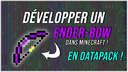[FR & EN] EnderBow (teleport bow) 1.16+ Minecraft Data Pack