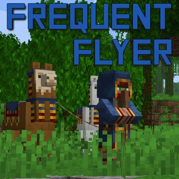 Frequent Flyer | More Frequent Wandering Trader Minecraft Data Pack