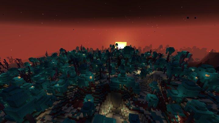 The End - world_endwarped_jungle and world_endphantom_forest