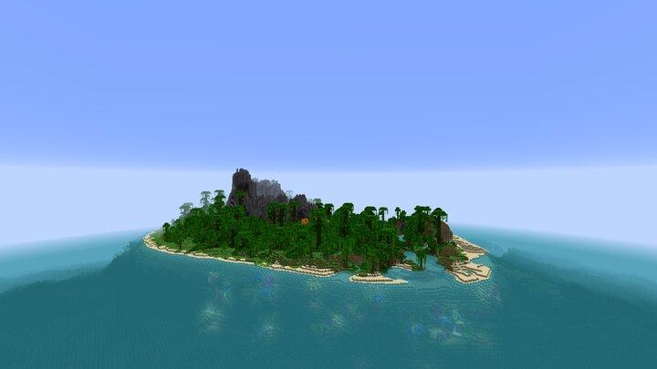 Overworld - islandvolcano