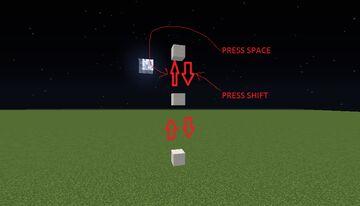 Elevator block datapack Minecraft Data Pack