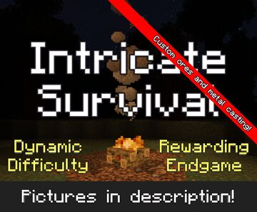 Intricate Survival - A Realistic Hardcore Experience Minecraft Data Pack
