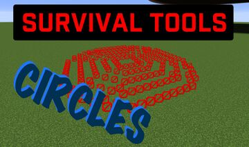 Survival Tools: Circles Minecraft Data Pack