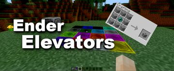 Ender Elevators - Bedrock 1.16 beta Minecraft Data Pack