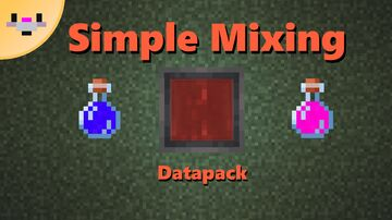 Simple Potion Mixing Minecraft Data Pack