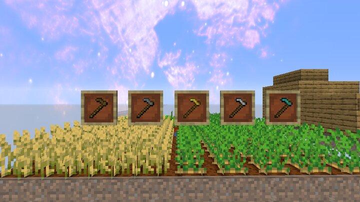 hoes drop more crops