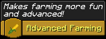 Advanced Farming [datapack] Minecraft Data Pack