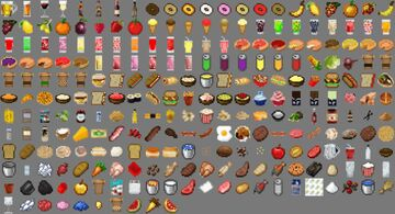 Lots More Food [Bedrock Edition] Minecraft Data Pack