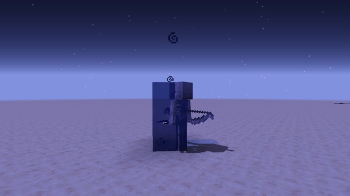 Frozen Skeleton
