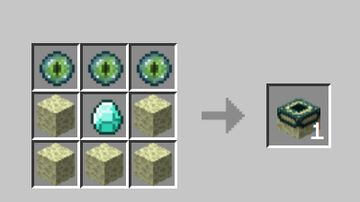 End Portal Crafting Minecraft Data Pack
