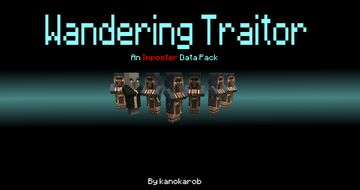 Wandering Traitor | An Imposter Data Pack Minecraft Data Pack