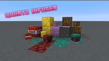 Quartz Infuser [1.1.1] +300 Player Head !! Minecraft Data Pack