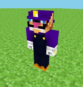 Minecraft But Waluigi Spawns EVERY TIME You Hit Something Minecraft Data Pack