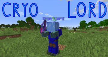 Cryo Lord Boss Fight. Minecraft Data Pack