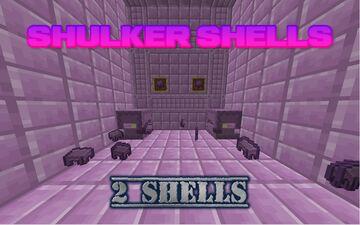 2 shulker shells Minecraft Data Pack