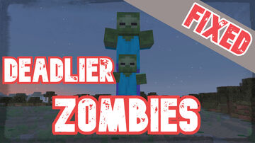 Deadlier Zombies! (Counterplay Update) | True Survival Minecraft Data Pack