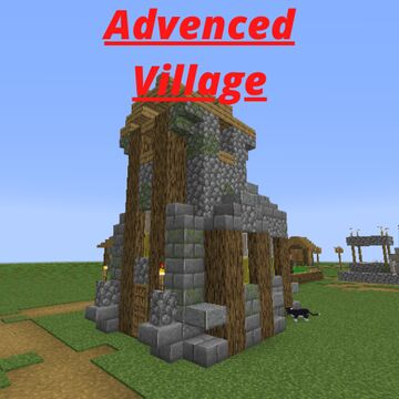 Advenced Village Minecraft Data Pack