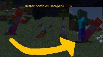Better Zombies Datapack Minecraft Data Pack