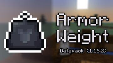 Armor Weight (1.16.2) Minecraft Data Pack