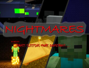 NIGHTMARES, MAGIC, AND MONSTERS Minecraft Data Pack
