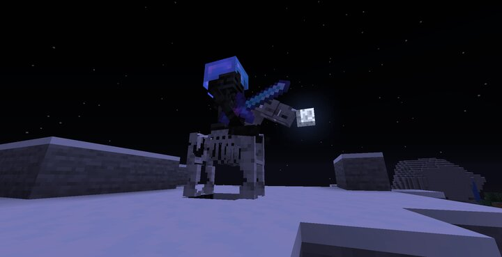 Skeleton horses can spawn with wither skeleton commanders