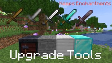 Tools Upgrade via Smithing Table Minecraft Data Pack