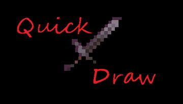 Quick Draw Minecraft Data Pack