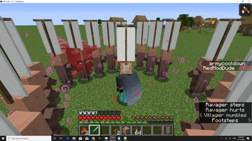 Personal Villager Army Minecraft Data Pack