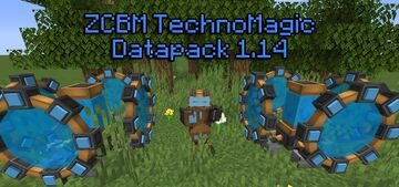 ZCBM TechnoMagic Minecraft Data Pack