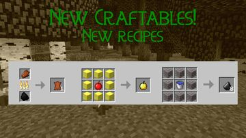New Craftables: New Recipes Minecraft Data Pack