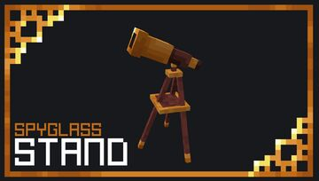 Spyglass Stand Minecraft Data Pack