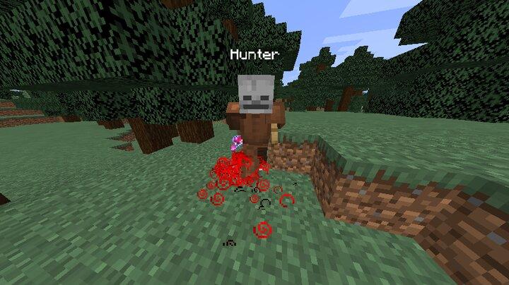 a hunter healing