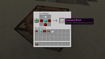 Command Block in Survival (Updated) Minecraft Data Pack