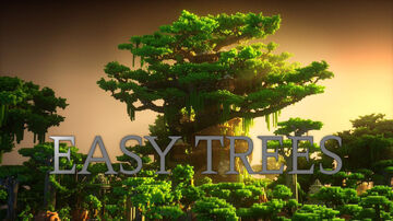 EASY TREES Minecraft Data Pack