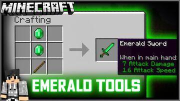 Emerald Tools Datapack [1.16+] Minecraft Data Pack