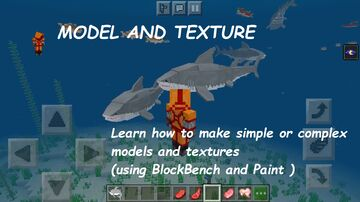 Create your own addon for MCPE : Shark Tutorial (by Asian Roofs Team) Minecraft Data Pack