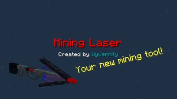 Mining Laser 1.16.2 - 1.16.5 Minecraft Data Pack