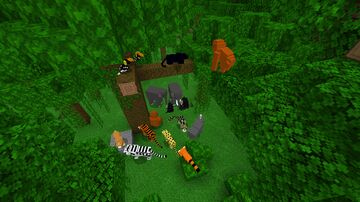 Natural Spawning Pack (for your own MCPE worlds) Minecraft Data Pack