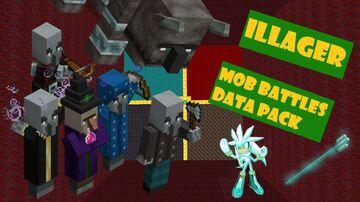 Illager Mob Battle v1.0 Minecraft Data Pack