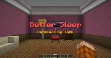Sleep Restores Your HP | Datapack by Taku Minecraft Data Pack